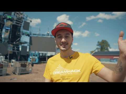 Dreamhack Summer 2018 | Dagliga videos | Rundvandring