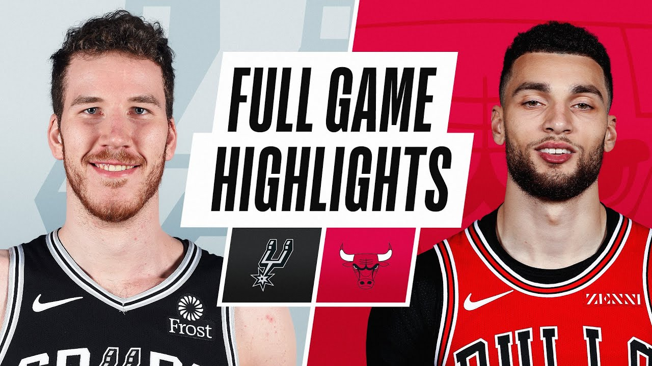 SPURS at BULLS | FULL GAME HIGHLIGHTS | March 17, 2021
