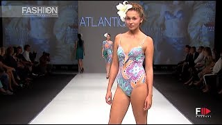 ATLANTIQUE Blue Fashion Beach Spring Summer 2015 Moscow - Fashion Channel