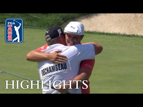 Bryson DeChambeau?s Round 4 highlights from the Memorial