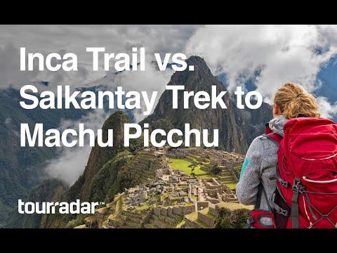 Inca Trail vs Salkantay Trek to Machu Picchu