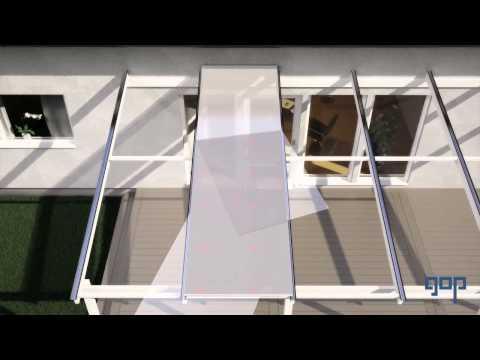 gop Multiglas Kanaltak Monteringsfilm - Montera ett komplett kanaltak