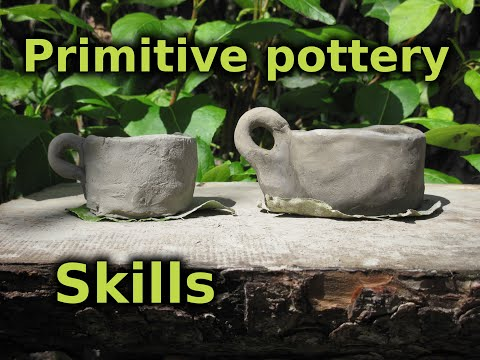 Bushcrafted Primitive Pottery For Wilderness Survival