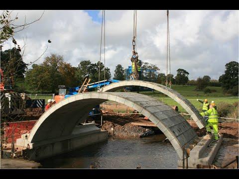 C3C Brosystem Flexi Arch tar den gamla stenvalvsbron in i framtiden!