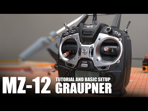 Graupner MZ-12 - Tutorial and Basic Aircraft Setup   Flite Test - UC9zTuyWffK9ckEz1216noAw