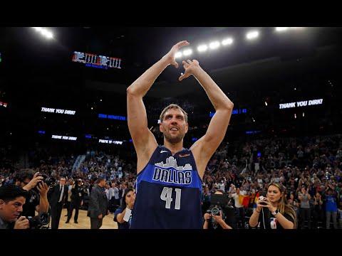 Dirk Nowitzki's Final NBA Game Highlights + Ending