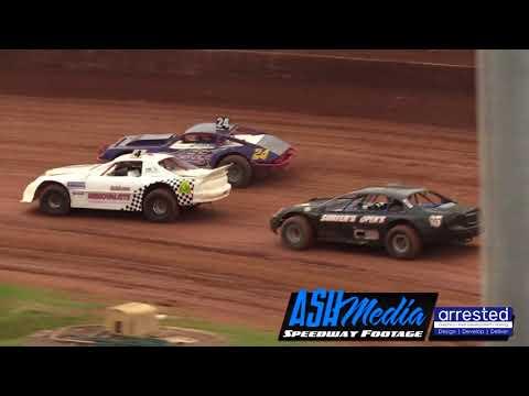 Open Sedans: Race Highlights - Archerfield - Jan 2018 - dirt track racing video image