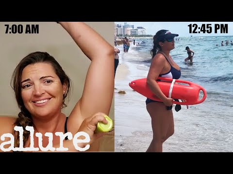 A Lifeguard's Entire Routine, from Waking Up to the Beach | Allure