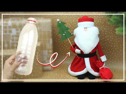Новогодние поделки — ДЕД МОРОЗ СВОИМИ РУКАМИ — Santa Claus DIY — NataliDoma