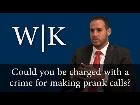 Could You Be Charged with a Crime for Making a Prank Call? (PC 653m)