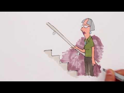 IPF - Kvinna i trappa