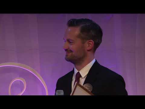 David Baas vinnare av Årets Röst – Stora Journalistpriset 2018