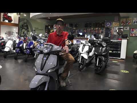 2021 Piaggio Liberty Scooter Lineup | Liberty Sport