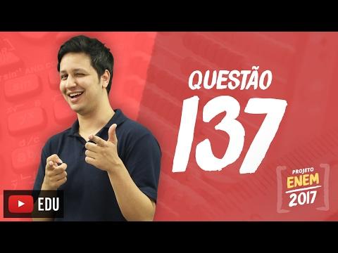 Enem 2016: Questão 137 (Caderno Rosa)