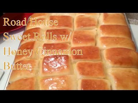 Homemade Road House Sweet Rolls Recipe w/ Cinnamon Butter - UCxWFay423FbCZ6-ot758-NA