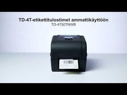 Brotherin TD-4T-tulostimet ammattikäyttöön | TD-4750TNWB