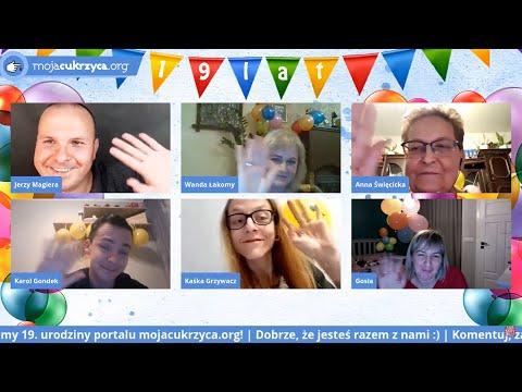 19. urodziny portalu mojacukrzyca.org - specjalne wydanie Pogadajmy o cukrzycy