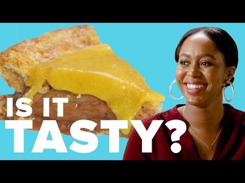 "Is Cheese On Apple Pie Tasty"" ? Tasty"