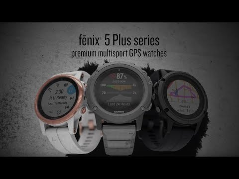 fēnix® 5 Plus - GPS-Multisport-Smartwatch