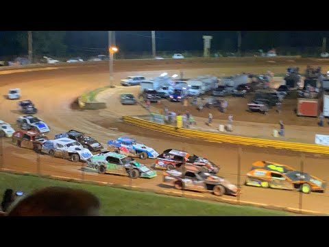 8/20/2021 Open Wheel Modified Lavonia Speedway - dirt track racing video image