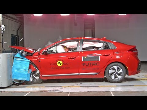 2017 Hyundai Ioniq CRASH TESTS
