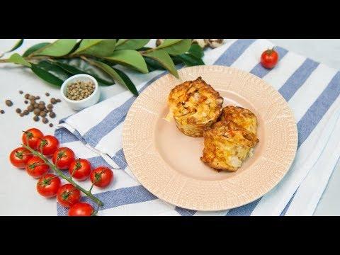 Маффины с беконом и кабачком | Дежурный по кухне