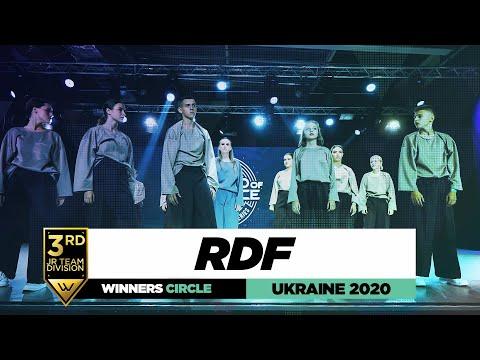RDF | 3rd Place Jr Team | Winners Circle | World of Dance Ukraine 2020 | #WODUA20