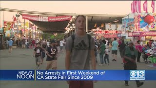 No Arrests At State Fair's Opening Weekend