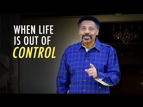 When Life is Out of Control, Look for God