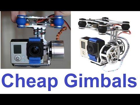 Cheap 2-axis Brushless Gimbal Comparison - UCKE_cpUIcXCUh_cTddxOVQw