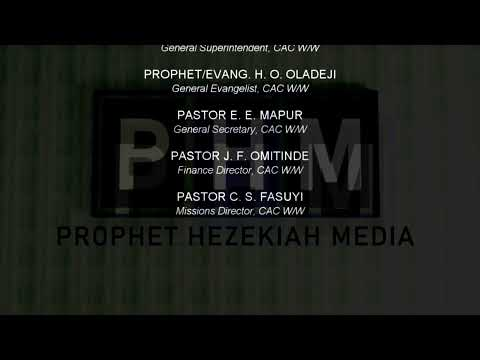 PROPHET/EVANG.HEZEKIAH OLADEJI LIVE AT CAC Faith Home Ede  16TH April, 2021Morning session Part 3