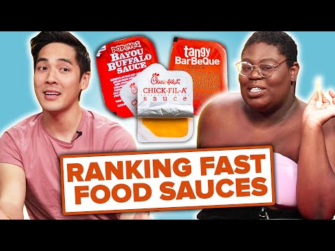 We Rank Famous Fast Food Sauces