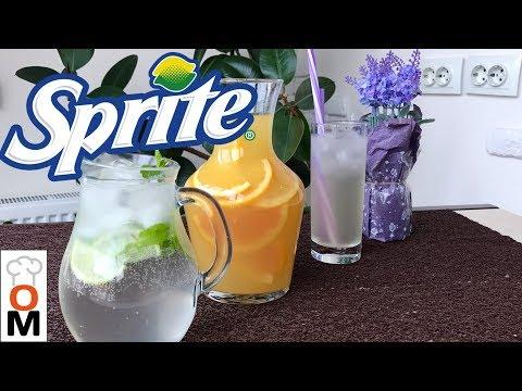 Готовим Sprite + Еще 2 Вкусных Лимонада, Жара, мы Тебя Победим!!!! | Sprite Recipe + 2 Lemonades