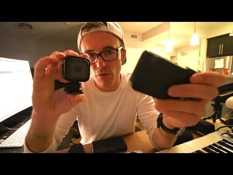 Gopro Hero 5 Session why all musicians should have one + $20 alternative - Vlog #140 Apr 18th 2017
