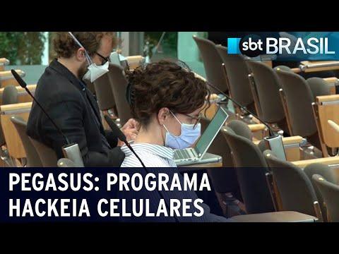 Jornalistas e ativistas podem ter sido hackeados por programa de espionagem | SBT Brasil (19/07/21)