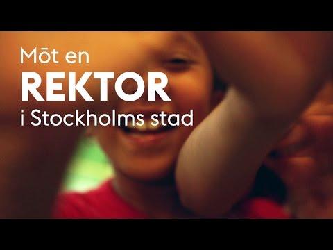 Möt en rektor i Stockholms stad