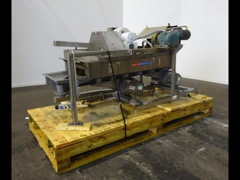 Used- FMC Syntron Electromagnetic Vibratory Feeder, Model FH-22-C-DT - stock # 48784003
