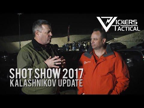 Shot Show 2017 - Kalashnikov Update