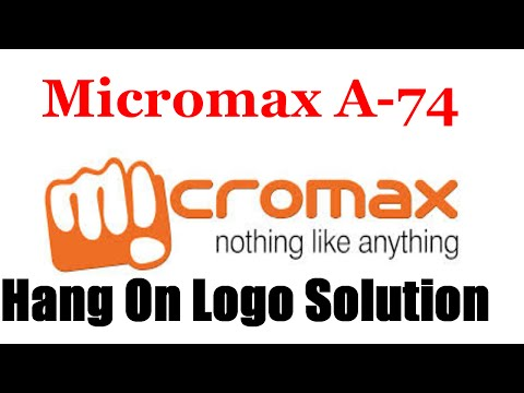 Micromax A74 Hang On Logo Solution | How To Flash Micromax