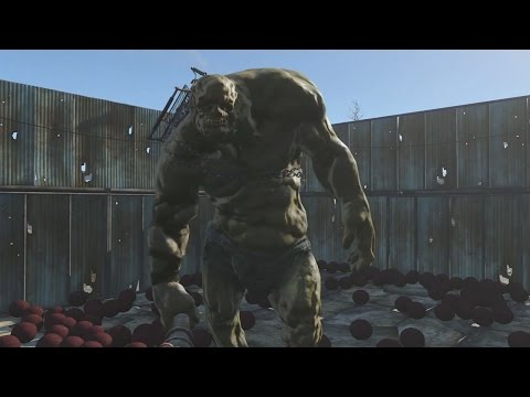 One Behemoth Fights Over 500 Deathclaws in Fallout 4 - IGN Plays Live - UCKy1dAqELo0zrOtPkf0eTMw