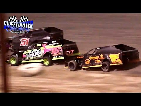 Sweetwater Speedway IMCA Modified Main Event 7/3/21 - dirt track racing video image