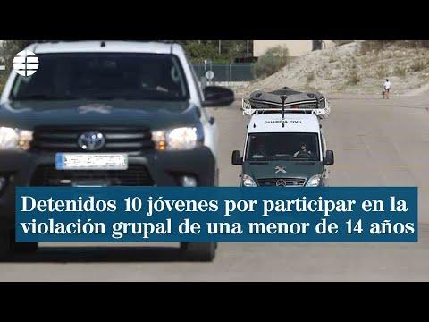 Detenidos 10 jóvenes por su supuesta participación en la violación grupal de una menor de 14 años