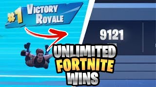 HOW TO GET UNLIMITED FORTNITE WINS (glitch) WORKING!!!!