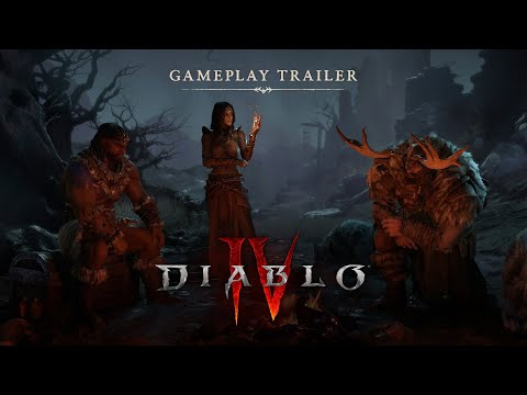 Diablo IV Official Gameplay Trailer