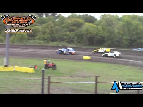 Buffalo River Speedway IMCA Sport Mod A-Main (9/19/21) - dirt track racing video image