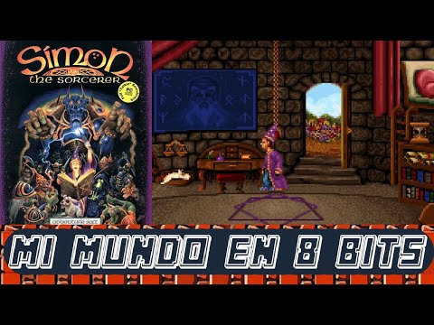 SIMON THE SORCERER - (SIMON EL MAGO) - GAMEPLAY DIRECTO EN ESPAÑOL