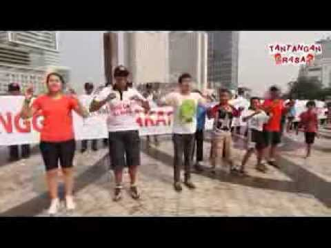 Flashmob Chicken Dance (Tantangan Rasa)