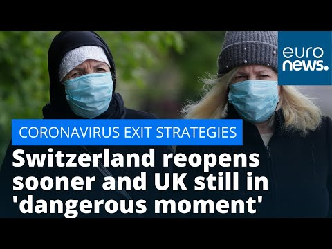 Europe's exit strategies: Switzerland reopens sooner than planned and UK still in 'dangerous moment' photo