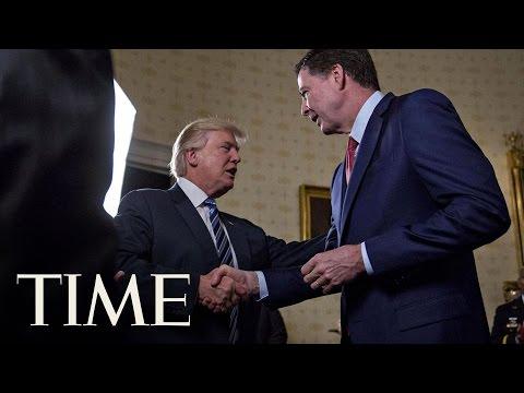 President Trump Keeps James Comey As FBI Director   TIME