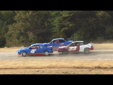 Four Cylinder Feature | Thunder Mountain Speedway | 10-9-16 - dirt track racing video image
